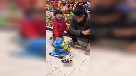 少儿:有新的零食吃啦