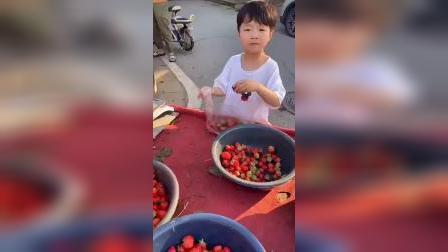 少儿:今天买点草莓吧