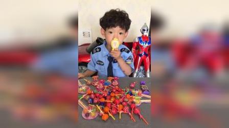 梦回童年:给我的宝贝糖果都亲亲
