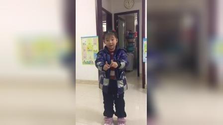 容容5岁时的舞蹈视频