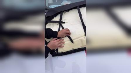 名爵MG5全包座椅套安装视频