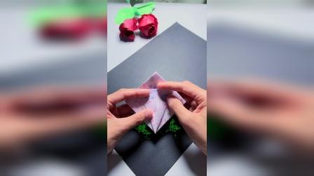 圣诞节糖果礼盒折纸教程