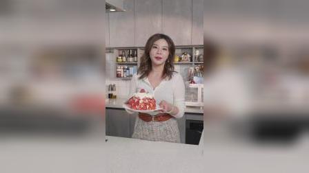 【曼达盒你】神仙组合!用草莓和芝士堆个雪山吧