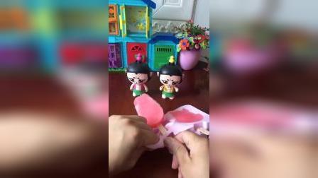 葫芦娃做雪糕