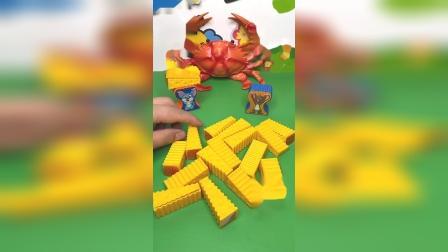 儿童益智玩具:这里有这么多的奶酪呢