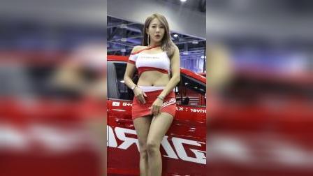 1003-06 2019汽车沙龙 美女模特柳河(2