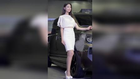1003-06 2019汽车沙龙 美女模特文架景(文佳京(文佳景)(2