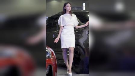 1003-06 2019汽车沙龙 美女模特文架景(文佳京(文佳景)