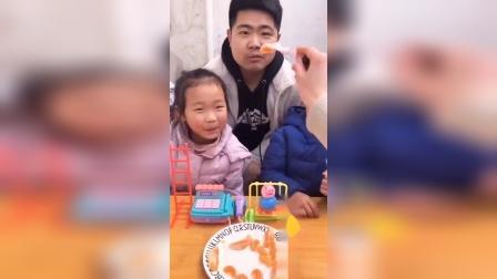 快乐的童年:啊,为什么不给我吃呢