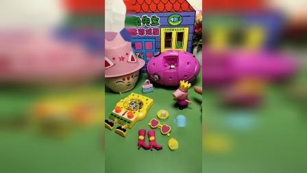 小猪佩奇来玩磁力球,不料发现少了一块
