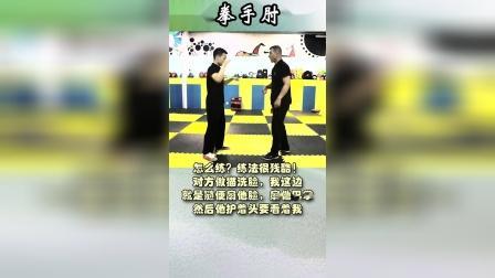 天下武功唯快不破,今天给大家介绍一种螳螂拳比较原始的练法:猫洗脸