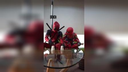 蜘蛛侠他们玩什么呢?