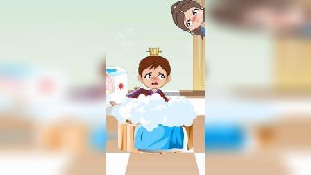 王子回家,会和贝儿一起做家务