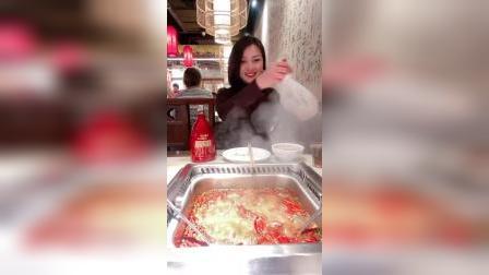 和媳妇出来吃火锅,确认过眼神,这绝对是个过日子的女人