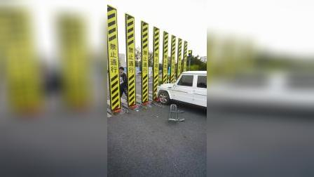 人行道车辆护栏,这个设计很实用
