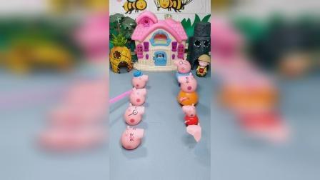 神奇的小猪一家,小朋友们喜欢谁