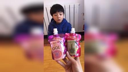 趣味童年:萌娃你想要那个果冻呀
