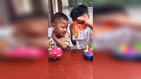 童年趣事:哥哥不让我吃雪糕