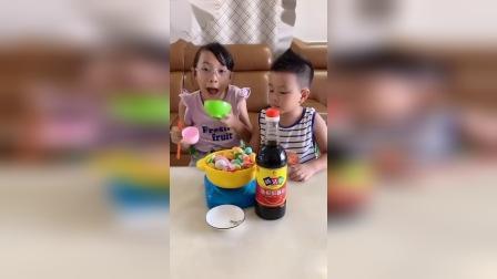 少儿益智:今天吃火锅啦