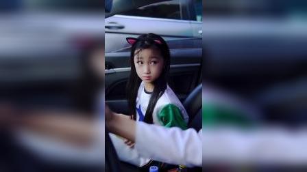 小姑娘坐网约车,这防范意识厉害了 #搞笑