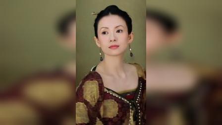 #章子怡 荧屏首秀 #上阳赋,挑战少女到成熟王妃的层次演绎!