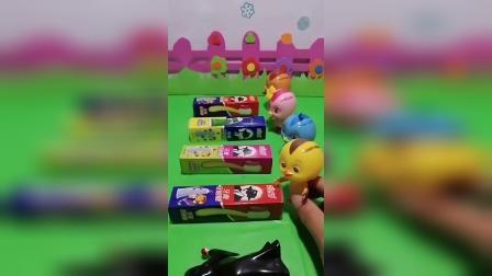 公主玩具屋:小鸡们要吃糖果