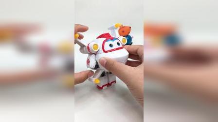 超级飞侠米克变形玩具