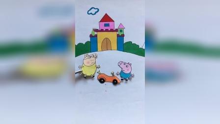 少儿益智:猪爷爷怎么飞出去了
