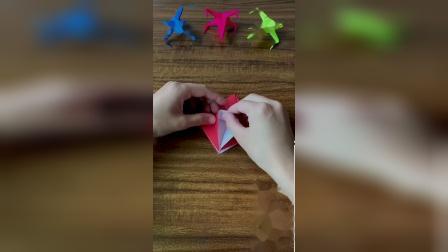 战斗机折纸,设计超酷!