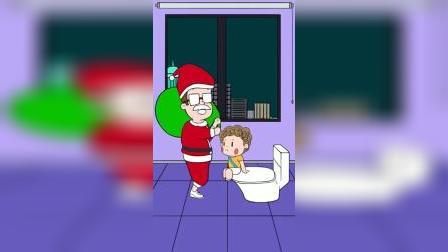 面膜妈妈:我要把圣诞老人留在家里