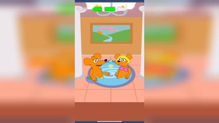 小游戏:老鼠在洗澡