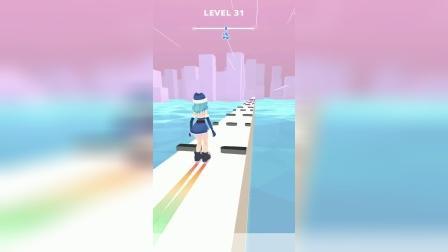 小游戏:这个轮滑游戏你会吗