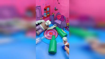 小小趣味玩具故事,怪兽和酒瓶子