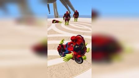 蜘蛛侠:绿巨人都拦不住