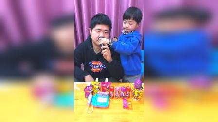 童年趣事:小朋友刮的胡子真是太帅了