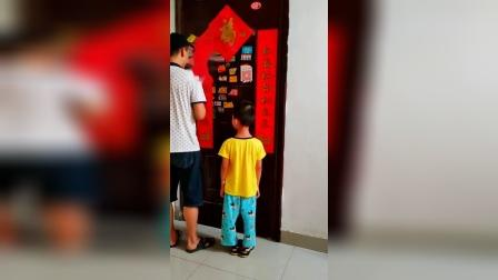 童年趣事:钥匙没带,看我怎么进去