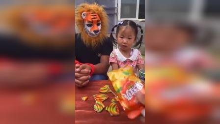 童年趣事:大怪兽怎么被宝贝绑起来啦