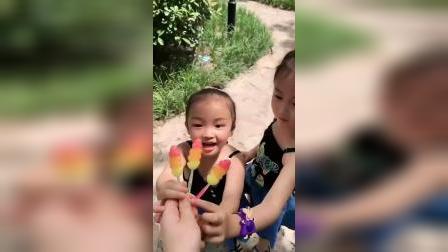 童年趣事:叶子糖,看着就有食欲