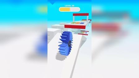 小游戏:蓝色的卷筒好厉害