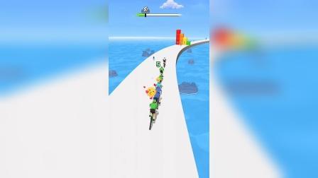 小游戏:骑自行车你能追上几个人