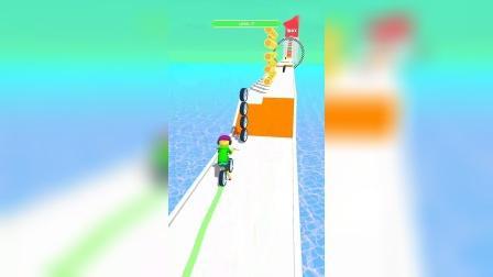 小游戏:骑自行游戏你会吗
