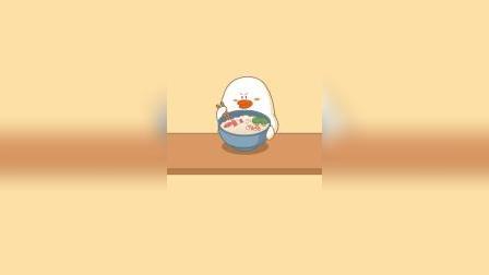 搞笑动画:多吃点就能变成大人?
