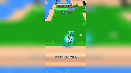 小游戏:吃鸡哥旋转攻击秒杀敌人