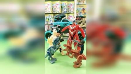谁的恐龙战队更厉害呢??