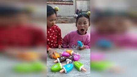 童年趣事:姐妹俩演的真好啊