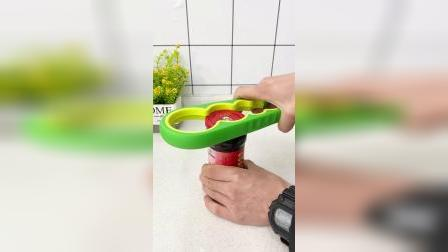 开箱:有了这个开罐神器,可以轻松打开家里的各种罐子