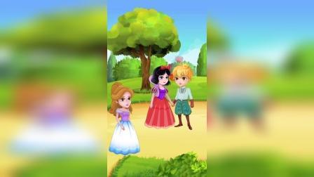 动画故事:帮帮白雪,告诉王子哥哥吧