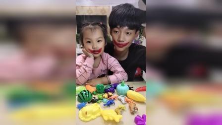 趣味生活:爸爸和宝贝的嘴巴怎么了