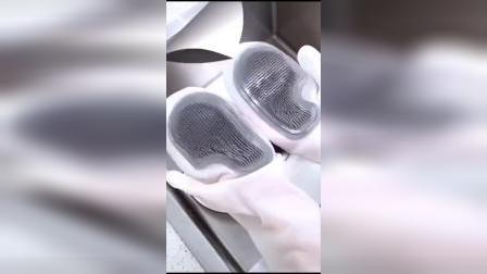 开箱:你还在用传统手套刷碗吗?试试这个洗碗神器