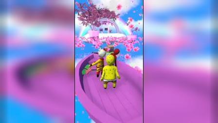 趣味游戏:海绵宝宝历险记